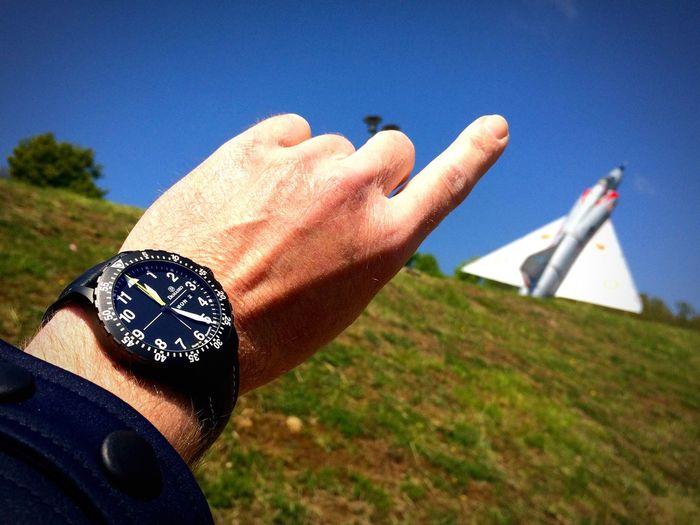 Upwards Damasko Flyinghigh Pilot Watch Aviationwatch Militaryaviation Mirage Intothesky Luxurywatches
