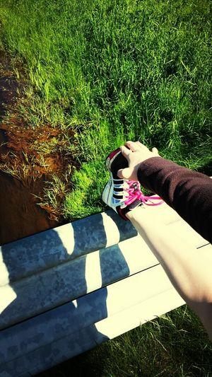Training Laufen Dehnen Natur