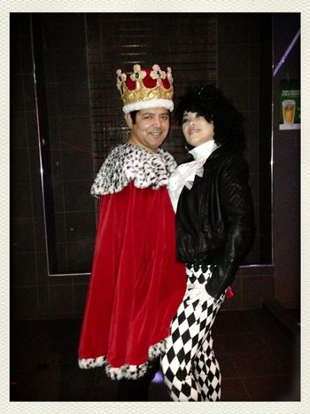 Queen & Prince theme BD party