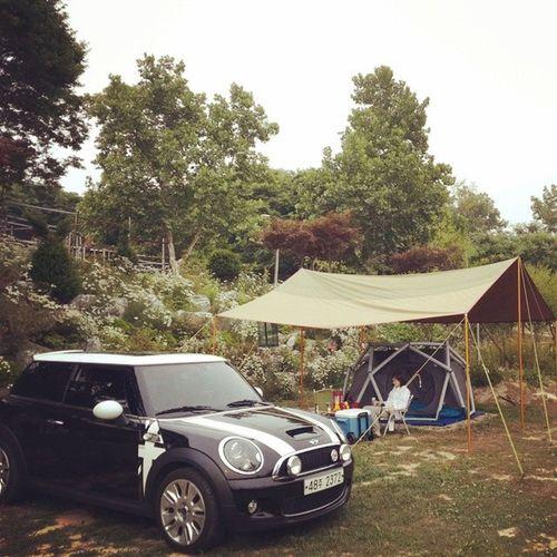 첫번째캠핑 타프 텐트 엄청나게 힘듭니다..^^즐거운 오늘데이트onelove