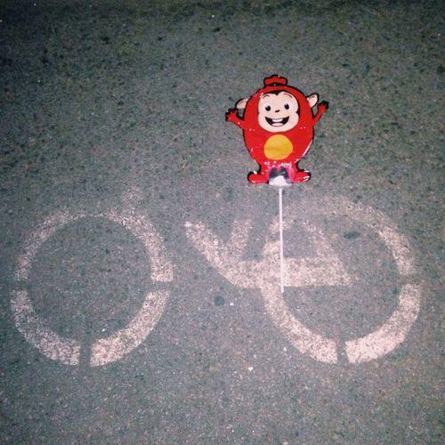 자전거 타고 있는 코코몽🚲 Sausage Bicycle Cocomong