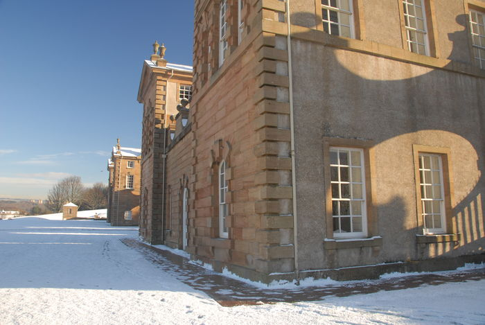 The Duke of Hamilton's Hunting Lodge Castle Historical Building Hunting Lodge No People Scotland Sky Winter