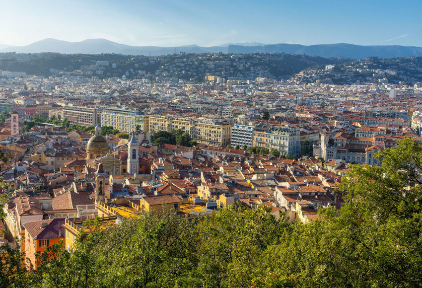 View to Nice, France Cityscape France View Architecture Building Exterior Built Structure City Cityscape Europe France 🇫🇷 French High Angle View Landscape Nice Nice France Outdoors Riviera Town View From Above Viewpoint