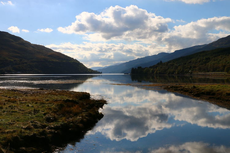 Lost In The Landscape Scotland Beauty In Nature Cloud - Sky Day Lake Landscape Mountain Nature No People Outdoors Reflection Scenics Sky Tranquil Scene Tranquility Water