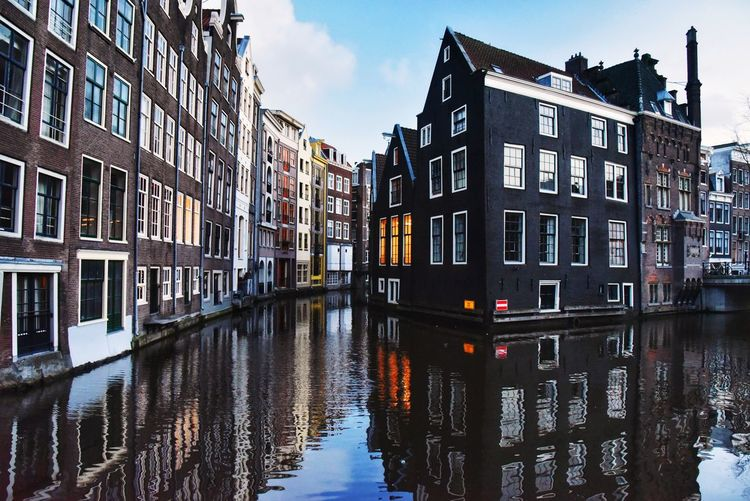 When in Amsterdam... Amsterdamcity Canal Amsterdam Canal Reflections In The Water Wintertime Eye4photography  EyeEm Gallery Architecture_collection Urban Geometry Urban Landscape Travel Destinations EyeEm City Gondola - Traditional Boat Water Cityscape Residential Building Window Reflection Canal Sky Architecture Townhouse Tiled Roof  TOWNSCAPE Housing Settlement Residential District Housing Development Residential Structure Settlement