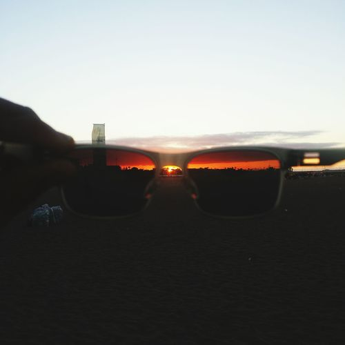 Holiday POV Beach Hanging Out Sunglasses Sunset Mohammedia Morocco Beach Photography