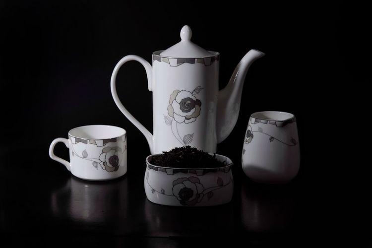 Teapot Black Background Studio Shot Indoors  Drink No People Jar Tea - Hot Drink Lid Freshness Day EyeEm Gallery