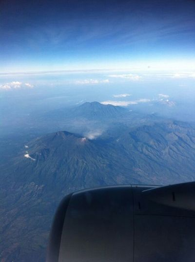 Mount Bromo ... Travelingindonesia Windowview Traveling BeautyfullIndonesia Mountain Starting A Trip View From The Window... Eyebest Photo From An Airplane Window Hello World