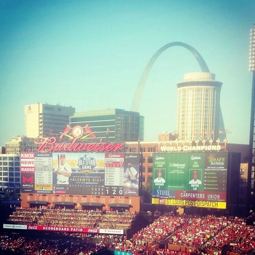 CardinalNation Cardinals Baseball Redbirdnation Stlouis Arch Baseball ⚾ Vacation Busch Stadium