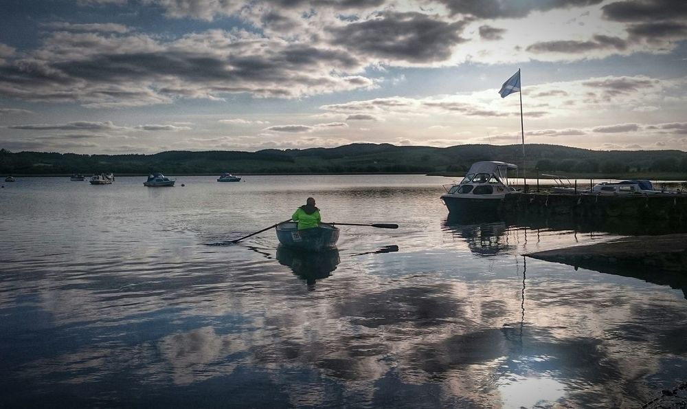 Crossmichael Marina in Southwest Scotland OpenWaterSwim First Eyeem Photo