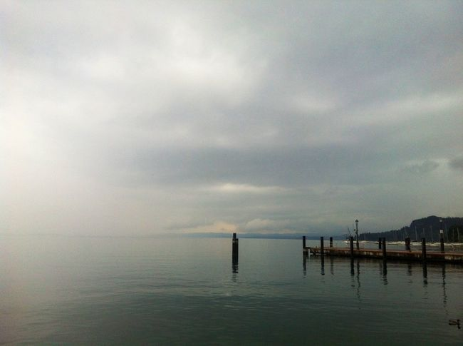 Sirmione Lake Lago Fog Nebbia Suggestions Enjoying Life Love Sky <3 Amazing Endofsummer