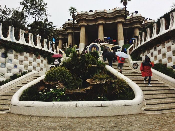 Spain♥ Parc Guell Rayning Day Schooltrip 🎓 EyeEmNewHere