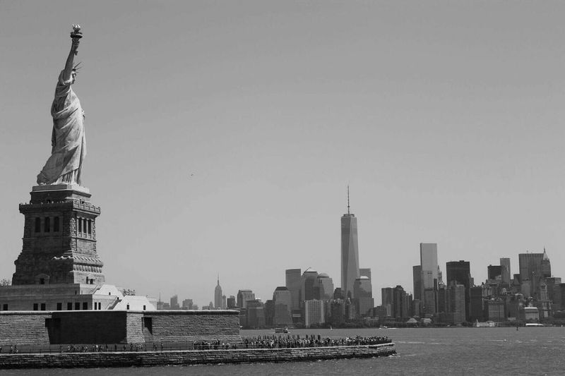 Statue Of Liberty New York Blackandwhite Amazing Landscape Travelling Aroundtheworld Nonnt