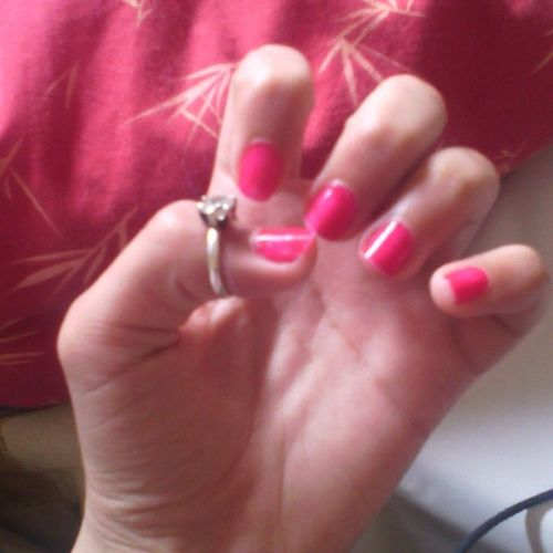 What about Pink ?! :D Pinknailswhocares Hashtag_Me √