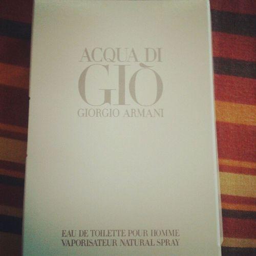 Acqua Di Gio GArmani cortesia de @gayoso_m Regalo