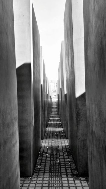 Berlin I Love Berlin Germany Holocaust Holocaust Memorial Black & White B&w