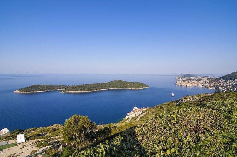 The view of Lokrum Island   Dubrovnik, Croatia Croatia Travel Dubrovnik Lokrum