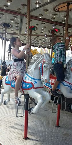 Check This Out Enjoying Life Carousel Siblings ♡ Reaching For Thetop The Great New York State Fair!