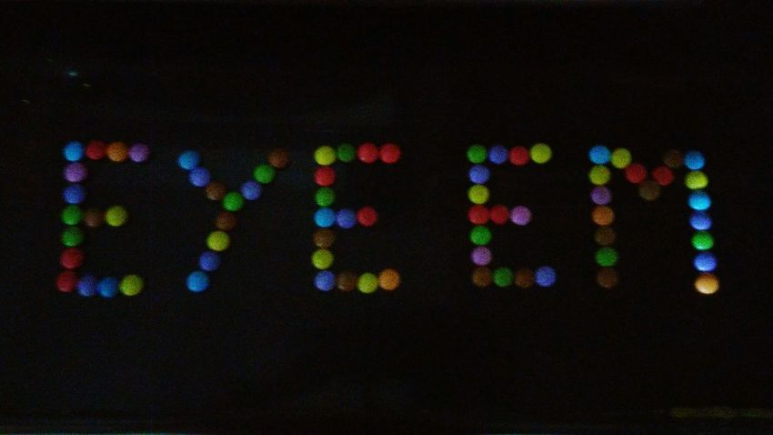 Multi Colored No People Variation Close-up Black Background Night Indoors  EyeEm Name Plate Name Art Circle Name Design Freshness Candy Letter Alphabets