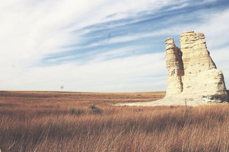 Castle Rock. Western Kansas Relaxing Photography Taking Photos Kansas Natural Sightseeing
