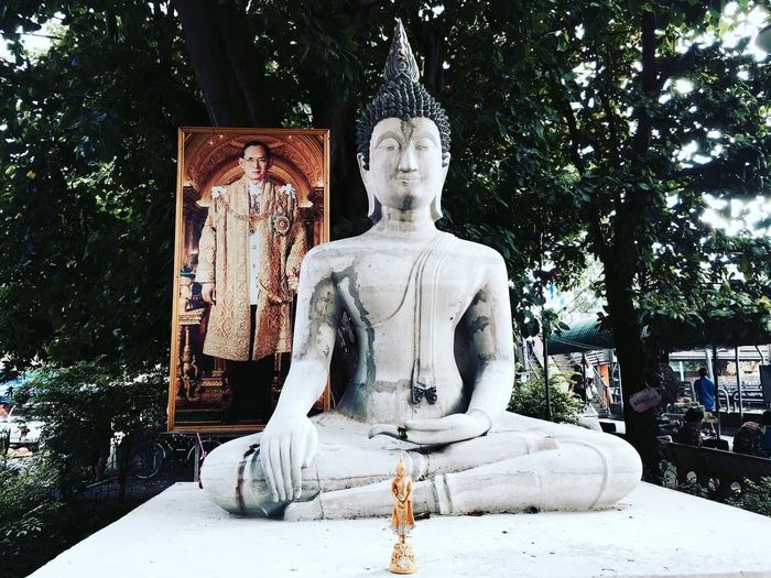King King Rama 9 Lord Buddha Check This Out Three Of Gods Gods
