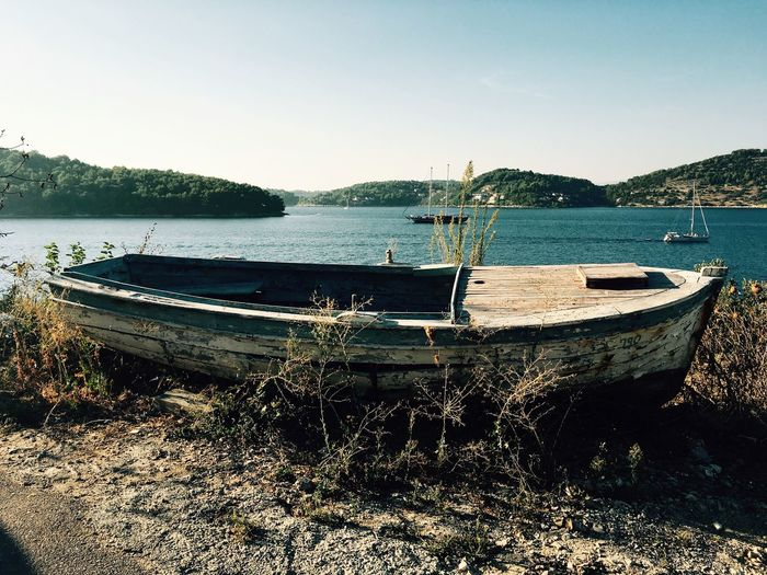 Boat sea First Eyeem Photo
