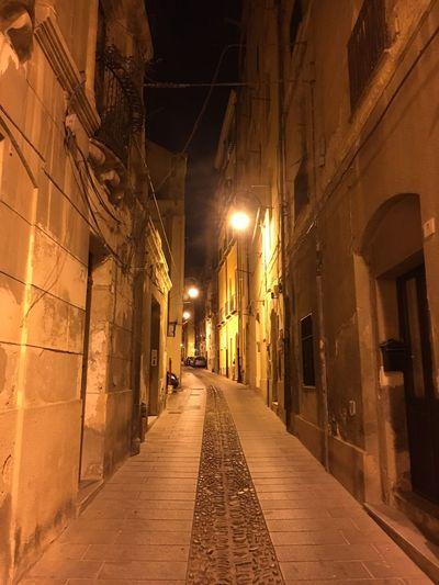 Cagliari Castello Cagliariturismo Cagliari By Night Cagliari Capitale Europea Della Cultura Cagliari Relax Passeggiata Cagliari Urban City Cagliari, Sardinia Cagliari Night Illuminated The Way Forward Architecture Built Structure Building Exterior No People Outdoors