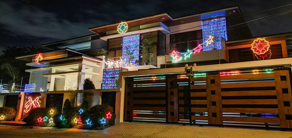 Architecture Travel Destinations Night Illuminated Tourism No People City Neon Outdoors Christmas