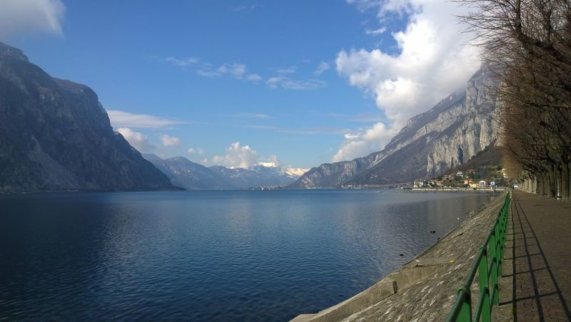 Beauty In Nature Lake Lake Como Mountain Nature No People Scenics Silence