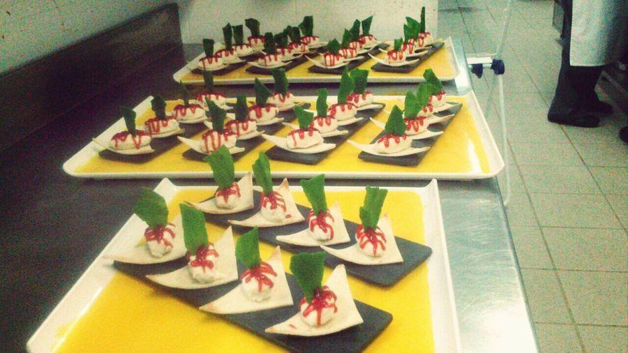 Food Pepermint Cake Soller, Mallorca