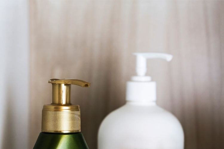 Things in my bathroom - Indoors  Close-up Gold Colored No People Taking Photos In Bathroom Exceptional Photographs Hello World First Eyeem Photo Minimalism Bathroom Home Interior Everything In Its Place In A Row Colors Simplicity Lotion Plastic Small Group Of Objects Two