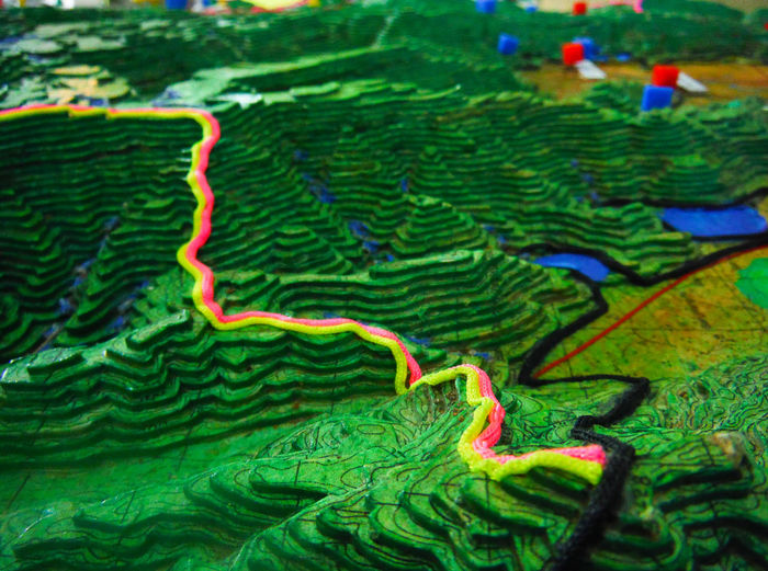 Our route through the jungleKhaoyainationalpark Thailand 3d Model Mini Mountains Topographic Vibrant Colors Terraced Terraced Landscape Topography Follow The Path Follow The Line Jungle Trekking Planning Ahead Nature Trail Map Perspective Photography Khaoyai Khao Yai Textures And Surfaces Elevation Fujifilm Finepix Xp60