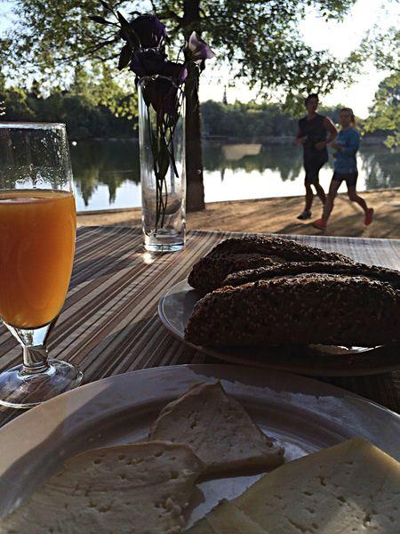 The EyeEm Breakfast Club My Breakfast Enjoying Life Hello World esmorzar i #running
