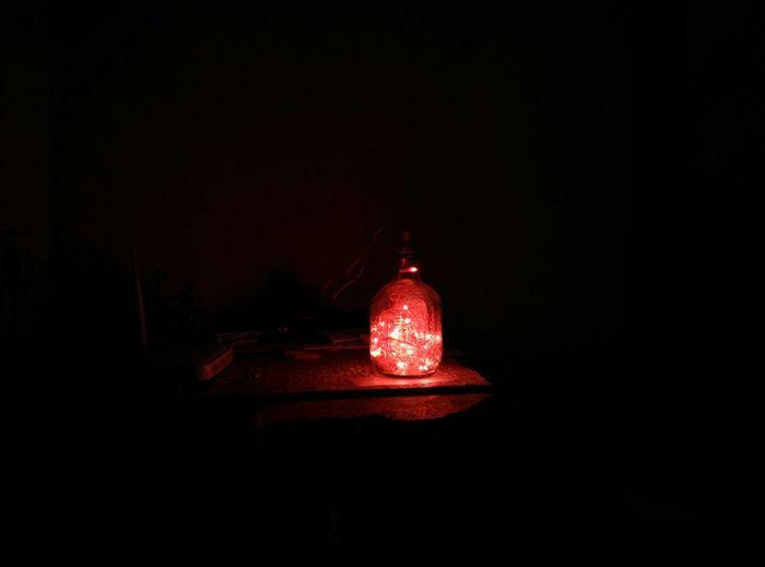 Lamp of monk