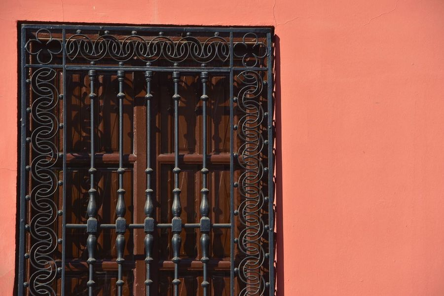 Facade Orange Pastel Colors Textures And Surfaces Window Forge  Nikon D7200 Taking Photos Eye4photography  Exploring New Ground Nikon EyeEm Best Shots Street Photography First Eyeem Photo Walking Around Nikonphotographer Let's Do It Chic! Nikonphotography Showcase April Respect For The Good Taste