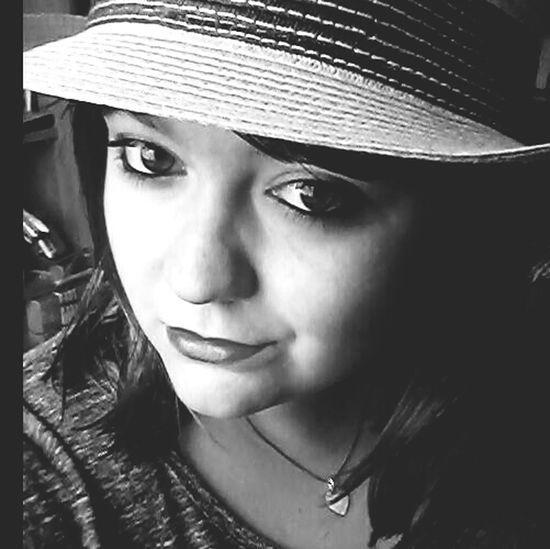 Black & White That's Me Hello World Selfie