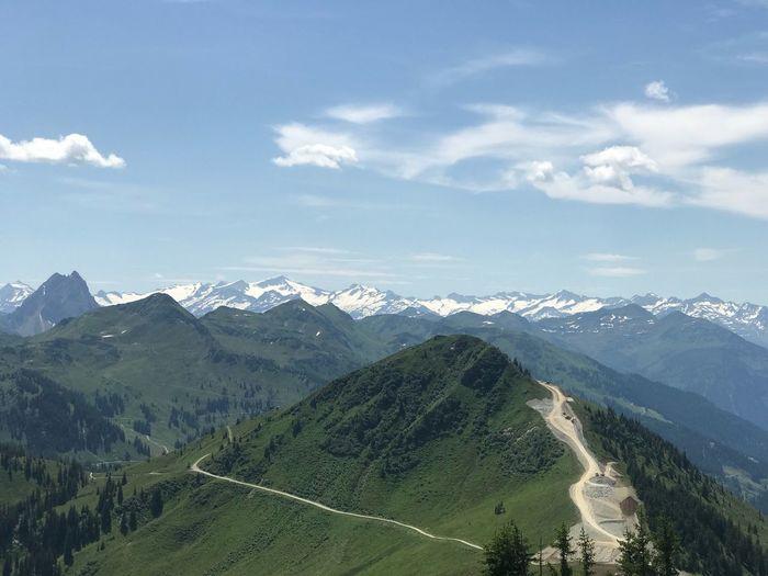 Gletscher Alpen