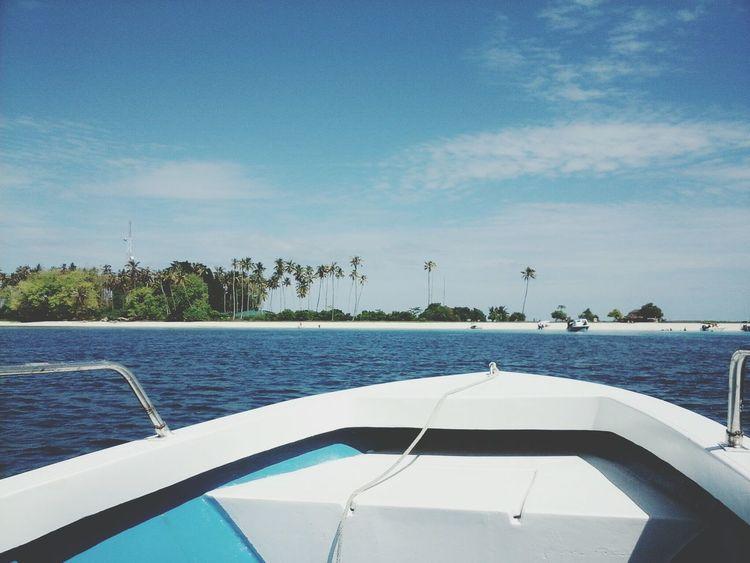 at Sibuan Island, Sabah: Beautifulborneo Gansau White Sandy beach Boat Need For Speed Northborneo White Sand Beach