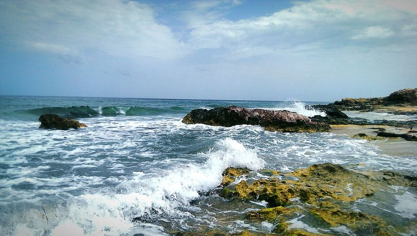 Seaside Sea And Sky Nature_collection Taking Photos Pictureoftheday Eyem Best Shots Relaxing Check This Out Sea View Sea_collection