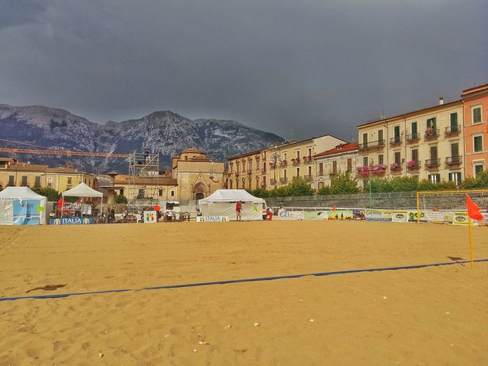 Colours Of Summer Colour Of Life Color Palette Colors Of Life Sulmona Abruzzo - Italy Piazza Garibaldi Piazza Maggiore Mundialito Beach Soccer Sand Mountains Mountains And Sky City And Nature City Colors Sport