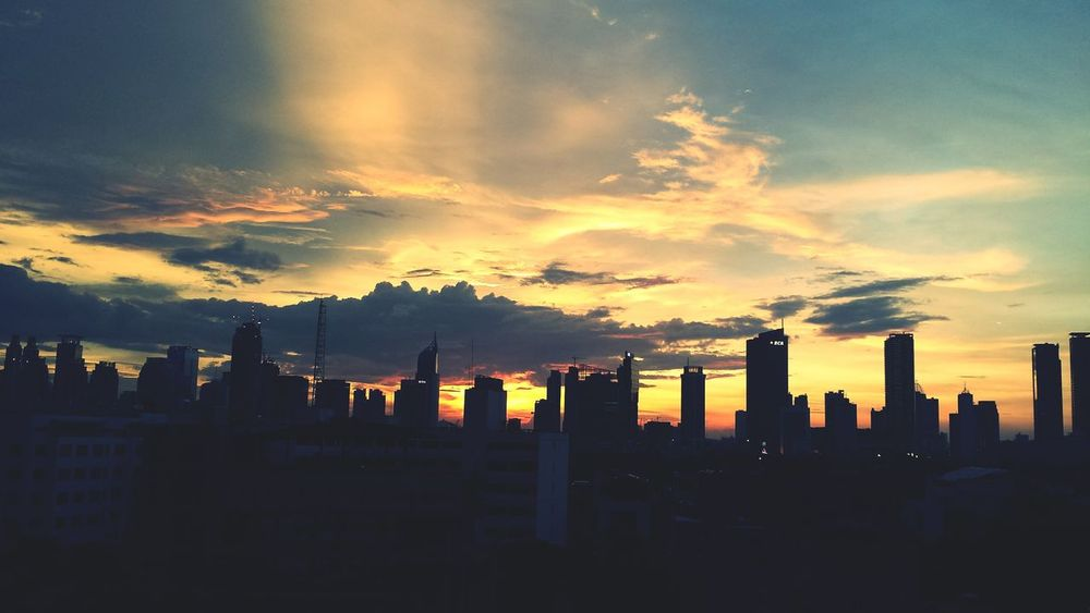 Travel Skyscraper Sunset Cityscape Urban Skyline City Igniting Travel Destinations Business Finance And Industry Modern Architecture Sky Building Exterior Cloud - Sky No People Outdoors Jakarta Indonesia Jakarta Sunsetinjakarta Sunsetporn Sunset