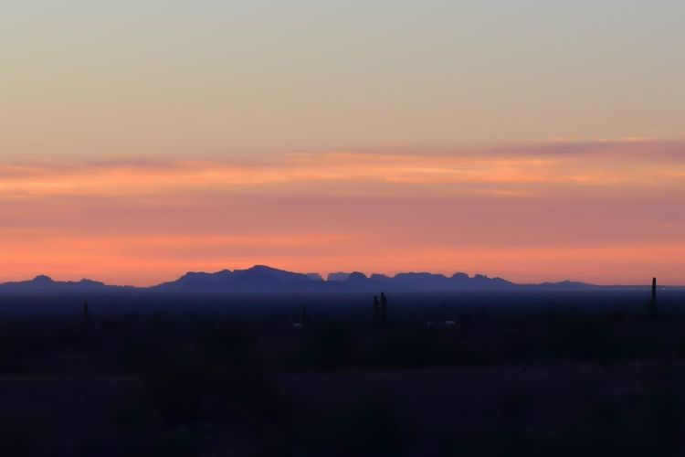 Pastel Power Sunrise Arizona Desert Beauty Desert Desert Landscape Desert Colors