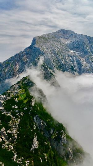 What a beautiful look from the Eagles Nest Cloud - Sky Sky Beauty In Nature Water Nature Sea Tree Scenics - Nature No People Plant Mountain Outdoors High Angle View