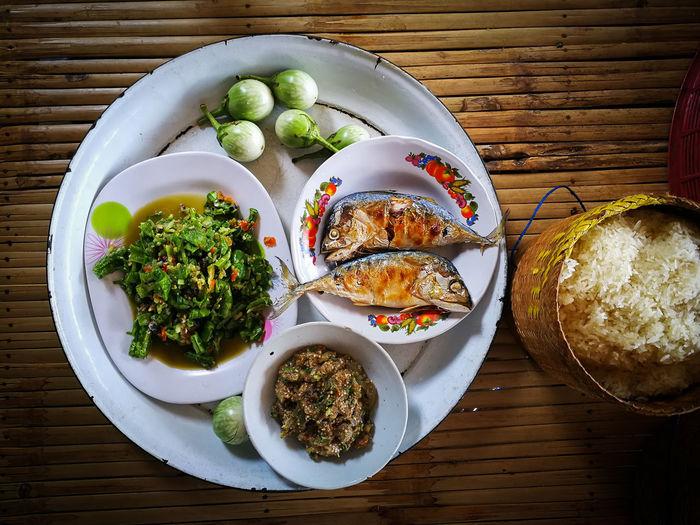 Food thai fish