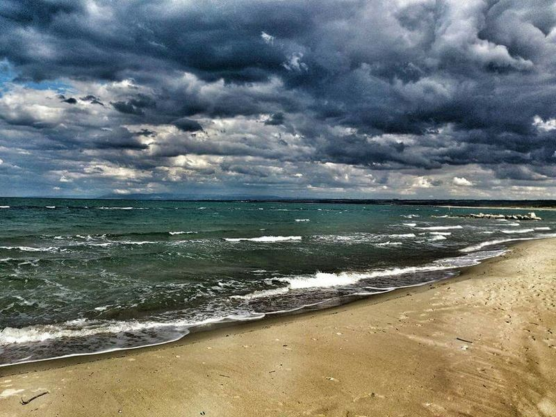 Campomarino lido ❤ Wheather Clouds Panorama Hello World Water Paradise Italy Life Is A Beach Beach Life Beach