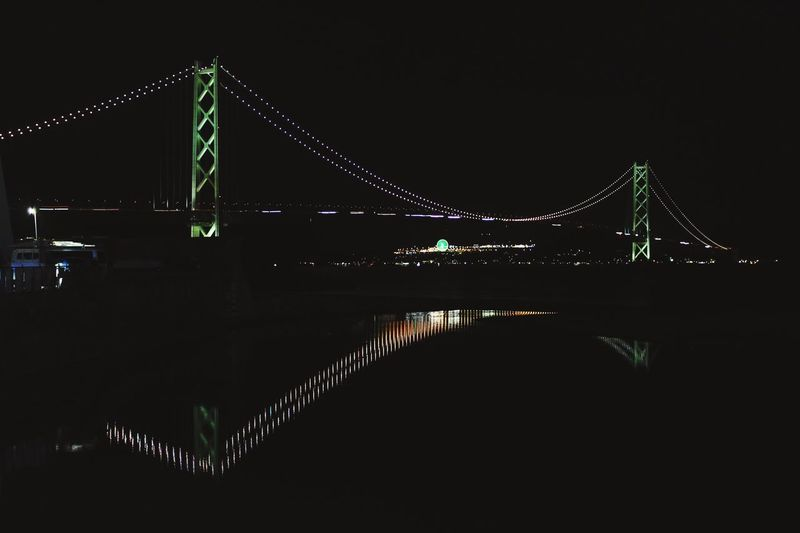 Travel Kobe Japan Night Illuminated Architecture