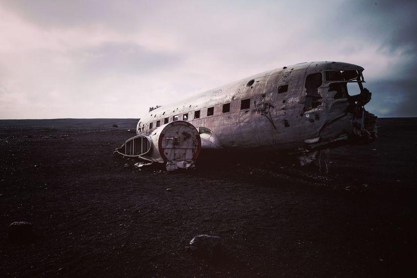 Plane Wreck, Iceland Iceland Nature Plane Travel Wreck Landscape Outdoors Travel Destinations