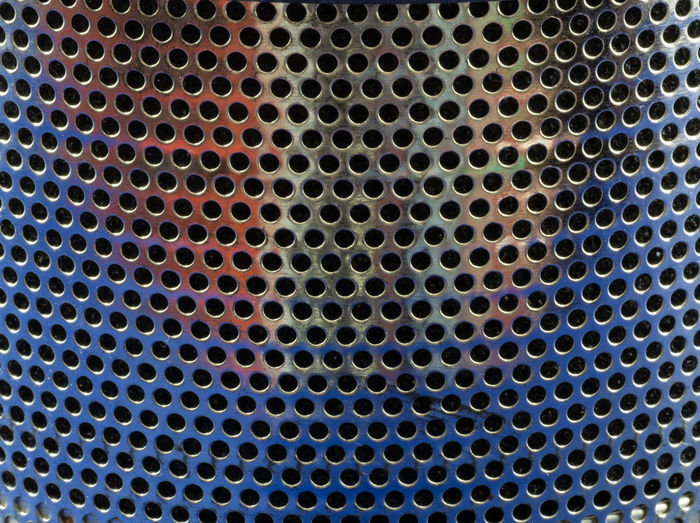 whole in my.... Graphic Design Pattern Textured  Backgrounds Geometric Shape Close-up Circle Shape Metal Grate Abstract In A Row Steel Silver Colored Alloy Textured Effect No People Metal Design Grid Aluminum Hole