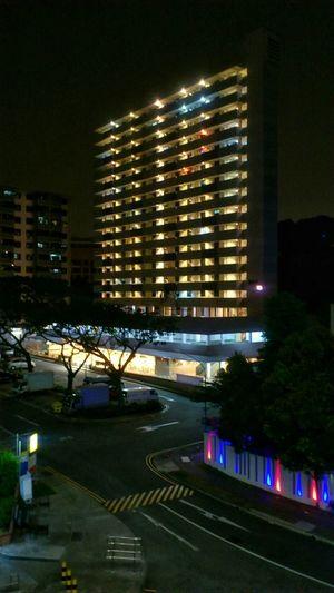 Singapore- Jalan Kukoh housing estate & food market Sony Xperia Photography Smartphonephotography Snapseed Mobilephotography Nightphotography