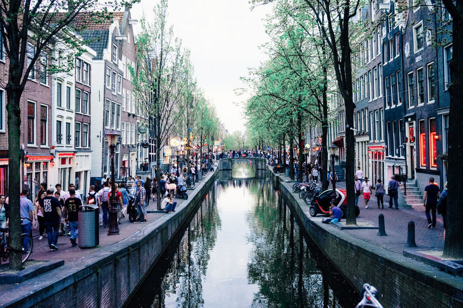 Amsterdam Amsterdam Canal Amsterdamcity Canal Canal Walks City City Street Lifestyles Red District River Sightseeing Water Adventures In The City